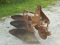For Sale a Dearborn (Ford) 3 bottom plow.. with furrow