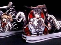 Death Note Anime Manga Hi Tops Light L Misa Ryuk Rem