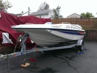 2006 Bayliner 197 Deck Boat, Great condition, low