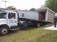 We can move your shed or deck, even campers or park