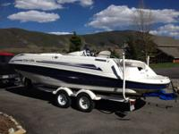For sale is our 2002 seadoo islandia deckboat. This