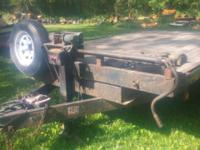 deck over trailer, 10,000 lb cap., dual axle w/4