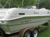 1995 VIP DECKLINER 22FT 6 INCHES262 CHEVY ENGINE,NEW