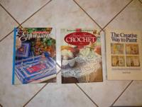 I am selling a few books on sewing and needlecraft,