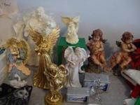 Miscellaneous Decorative Angels, all in excellent and