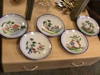 Decorative Asian oriental Plates     Get there 1st and