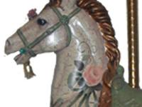 Wonderful one-of-a-kind carousel horse with