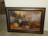 Decorative Picture perfect for any kitchen or dining
