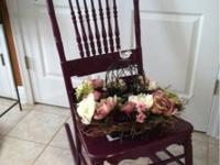 Decorative planter chairs Assorted styles available