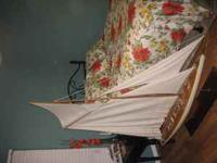 Large 5 ft sailboat. No rips in mast or netting. Some