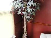 Selling (2) Decorative artificial 6ft trees.