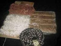 Decorative Trims: A variety of different lip cord