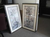 Decorative Wall Pictures $50.00obo for both.
