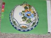 For sale a nice Italian painted bowl. Asking $10.00