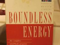 "DEEPAK CHOPRA-CLASSIC TAPE ""BOUNDLESS ENERGY - TAPE"