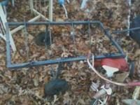 Deer Buggy/Hog Hauler. Deep V's to hold your deer or
