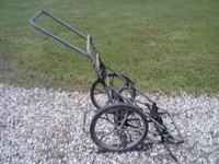 Never Used Deer Cart on Wheels with Straps Paid $100.00