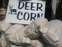 DEER CORN ON THE COB!!!   $8.50 PER SACK    WHILE