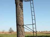 "New in box, never opened Big Game Ladderstand. ""The"