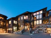 This is truly a Deer Valley mountain contemporary