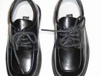 Deer Stags Comfort Footwear Black Leather Dress Shoes