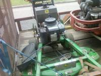 I have a John Deere GS45 walk behind for sale. It has a