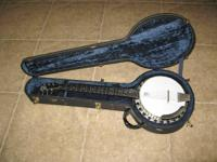 I'm offering my Deering Boston B-6 six string banjo.