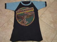 Def Leppard - Blackfoot 1981 concert tour t shirt. This