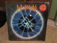 Def Leppard Adrenalize. Original 1992 UK Import vinyl
