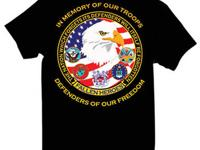 Defenders of Freedom T-Shirt with the inscription The
