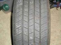 2 DEFINITY P225/60R16 Tires, Very Good Condition,