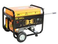 DEK commercial grade portable generator with 3-year