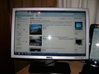 "Dell 17"" flat panel LCD monitor. Excellent condition."