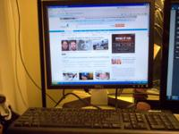 Dell 117FP 17 inch level Panel monitor. includes VGA &