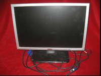 "DELL 19"" LCD flat screen monitor-good colors-no dead"