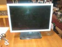 "Dell 19"" Flat Monitor, Model # S199WFP, very good"