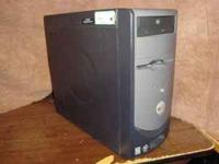 For Sale Tower Only, Dell 2400, Intel 2.4 ghz.