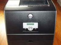 Dell 3010cn Color Laser Printer. Ethernet Network or