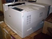 Dell 7130cdn Color Laser Printer (Used) (Once) Cost us