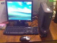 This is a 2.8 Gz Dell Optiplex SFF with a DVD drive,