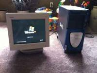 Dell tower, windows XP, intel pentium 4 processor. Call