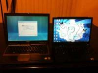 Dell D630 Laptop with power adapter 80 GIG hard drive