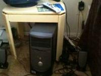 For sale is a Dell desk top & Dell