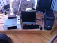 Dell Desktop and Printer for sale $250.00 obo call  NO
