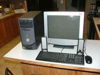 Dell Dimension 2400 computer system with mouse,