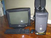 Dell Dimenion B110 Desktop computer with Windows XP, in