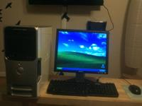 Essentially unused Dell Dimension E521 complete with 17