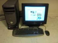 Dell Dimension PC 4300 with Intel Pentium 4 processor,