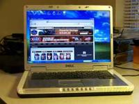 "Dell Inspirion 6000 Laptop. 15.4"" wide screen. Intel"