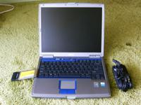 This laptop is very old (2004), but it still works